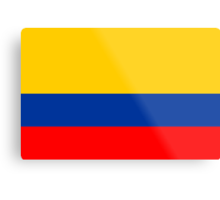 Colombia, national id Metal Print