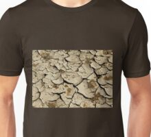 Parched Earth Abstract Unisex T-Shirt