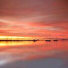 Eastern Beach Sunset by RichardIsik