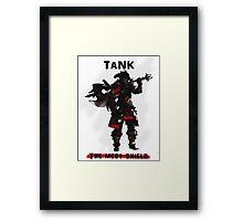 Final Fantasy XIV Tank Framed Print