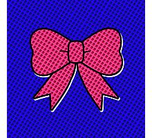 Comic Bow Photographic Print