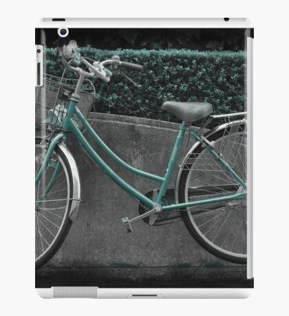 Autumn in Japan:  Green Transportation iPad Case/Skin