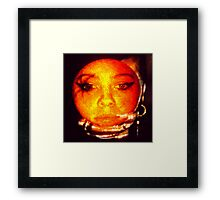 orange peel daze Framed Print