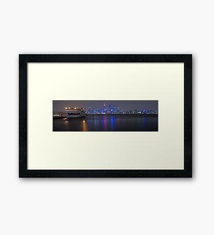 Decoy On A Stormy Night  Framed Print