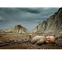 Sad Toy Story Photographic Print