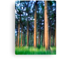 ~ the blue confetti forest ~ Canvas Print