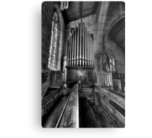 Many a Hymn (B&W) - The Garrison Church c.1843, The Rocks Sydney- The HDR Experience Metal Print