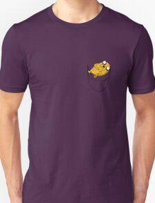 Pocket Jake the dog. Adventure time Unisex T-Shirt
