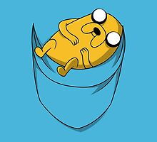 Pocket Jake the dog. Adventure time by LAZARE-TENDO