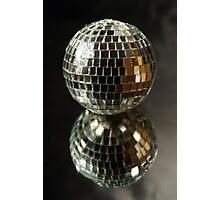 Shiny disco ball Photographic Print