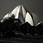 Lotus temple by Alexander Meysztowicz-Howen