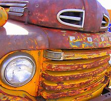 Old Mexican truck by CatEncio