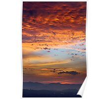 Skyscape of Mars  Poster