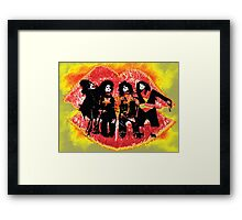 Mini Kiss - Coverband  Framed Print