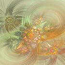 Imagination In Fractal Form by Deborah  Benoit