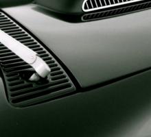 Classic Corvette Sticker