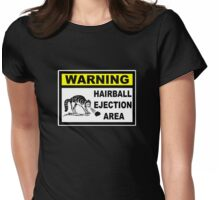 Hairball Womens Fitted T-Shirt