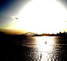 Sydney Harbour Apocolypse by Cassy Hodge