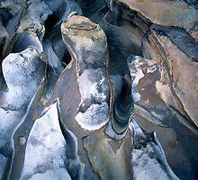 Rock patterns, Purnululu National Park by Kevin McGennan