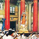 Feast  of Santa Maria-Malta by Joseph Barbara