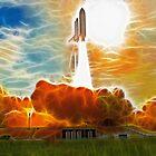 Shuttle Launch by Fred Seghetti