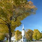 Vermont Church by Jerry Deutsch
