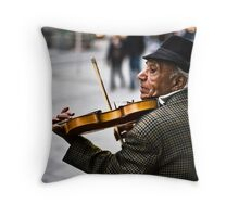 Music is Life  Throw Pillow