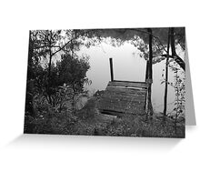 Black And White Random Greeting Card
