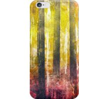 Abstract Print 18 / trees iPhone Case/Skin