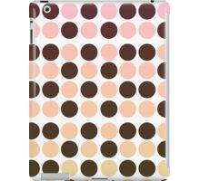 Dots background 02 iPad Case/Skin