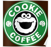 Cookie Coffee Poster