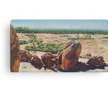 Victoria Rock,West Australia Canvas Print