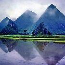 Yangshou karst, China by John Spies