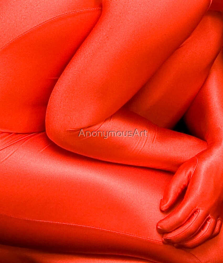 Red Detail by AnonymousArt