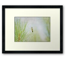 """""""Upon the Wings of an Angel"""" Framed Print"""