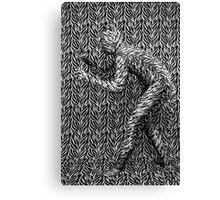 Hidden Tiger Canvas Print
