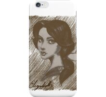 Elizabeth | French portrait iPhone Case/Skin