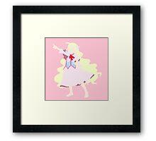 Mavis Vermillion Framed Print