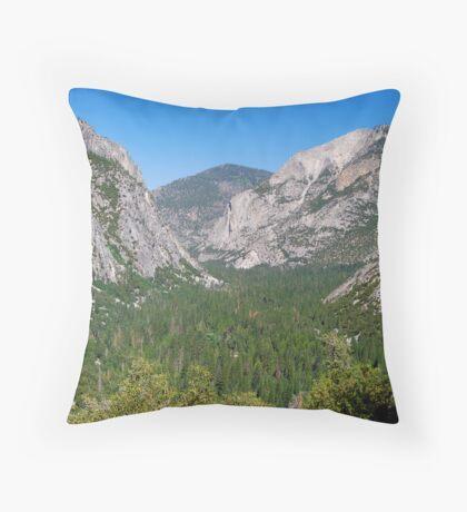 Kings Canyon National Park Throw Pillow