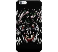 Joker - HAHAHAHAHA iPhone Case/Skin