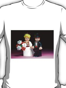 Lego Bride and Groom ( with top hat ) T-Shirt