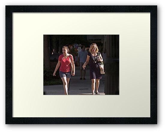 Crosswalk by Larry  Grayam