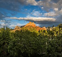 View from Creekside Restaurant - Sedona, AZ by eegibson