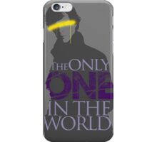 The Only ONE In The World - Sherlock Holmes iPhone Case/Skin