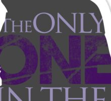 The Only ONE In The World - Sherlock Holmes Sticker