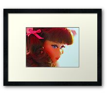 Barbie's Best Side Framed Print