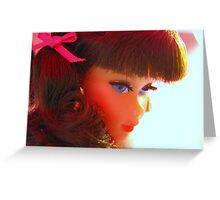 Barbie's Best Side Greeting Card