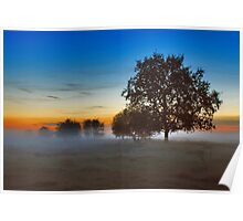 Sunset Renesse Poster