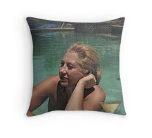 Deep Thoughts, a Cocktail, and a Swim Throw Pillow