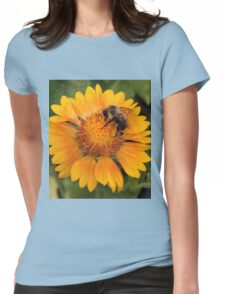 Bumble Bee Womens Fitted T-Shirt